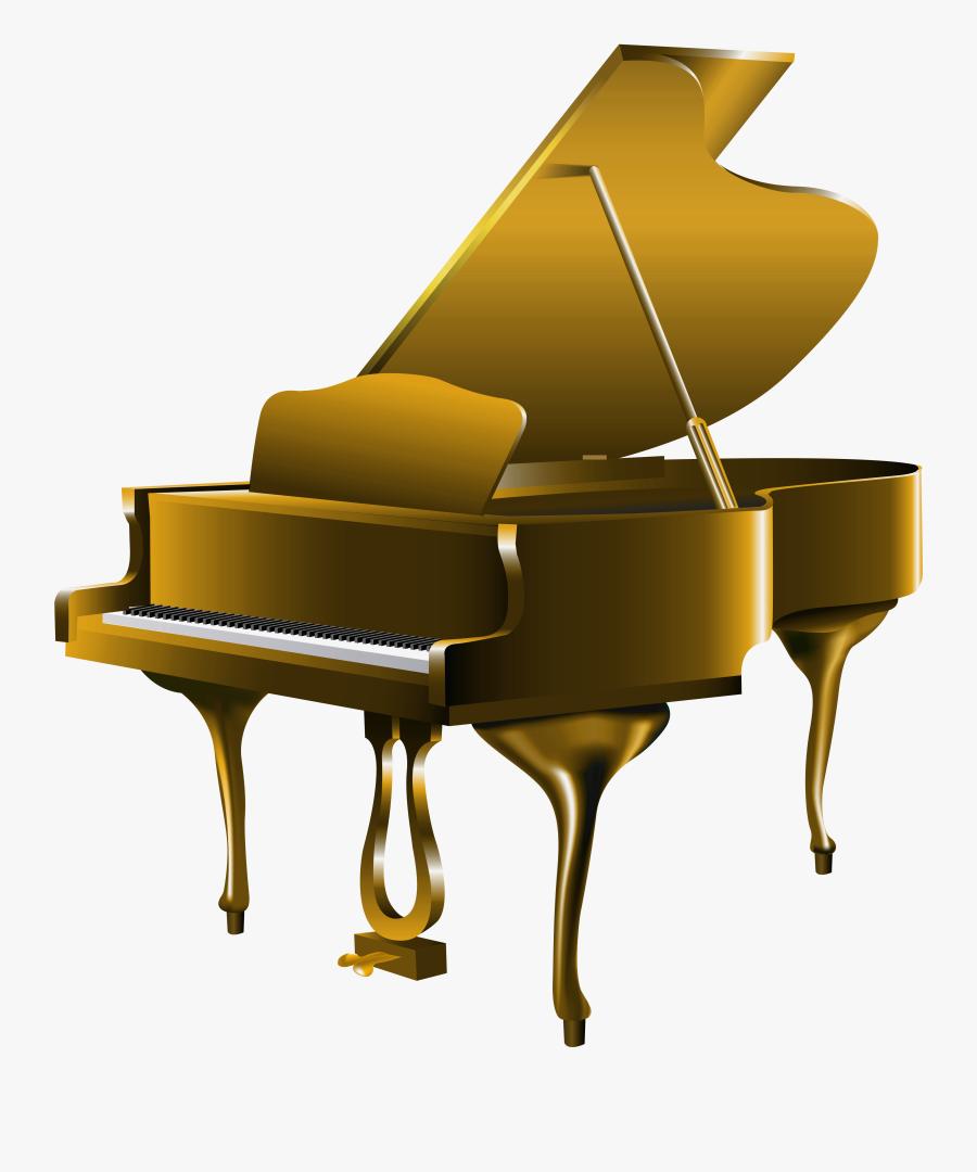 Piano Clip Art Free Vector 3 Clipartcow - Transparent Piano Clip Art, Transparent Clipart