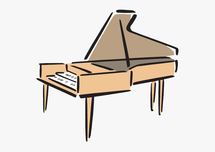 Transparent Piano Vector Png - Piano Clip Art Transparent, Transparent Clipart