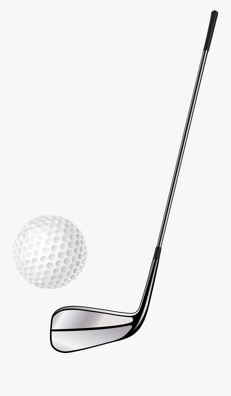 Golf Club Stick And Ball Png Clip Art - Golf Stick And Ball, Transparent Clipart