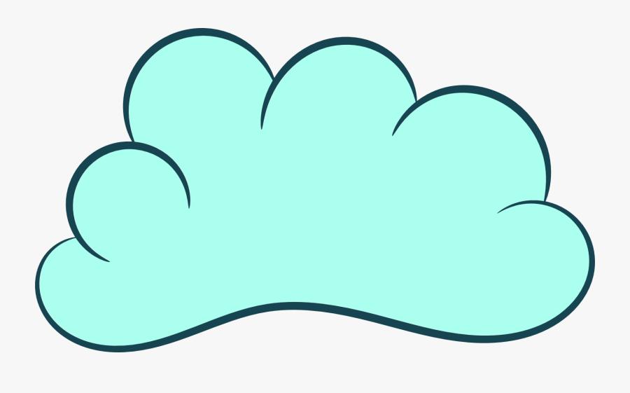 Clipart Cloud - Cloud Cartoon Transparent Background, Transparent Clipart
