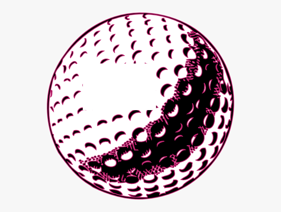 Golf Ball Clip Art Free Vector Clipart Images - Black And White Golf Ball, Transparent Clipart
