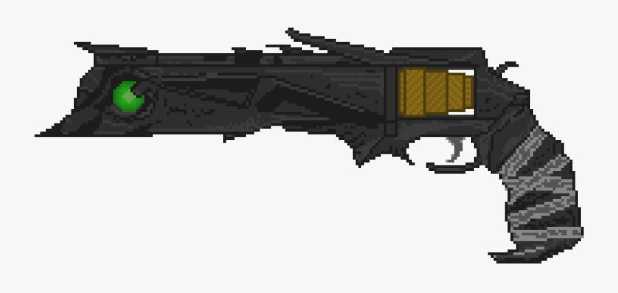 2080 X 1050 - Pixel Art Laser Gun, Transparent Clipart