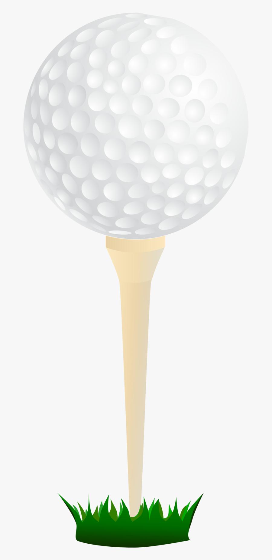 Golf Ball And Tee Clipart Transparent, Transparent Clipart