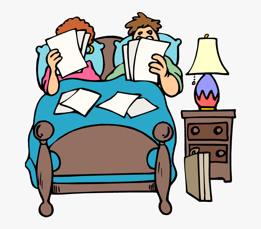 Make Bed Out Of Bed Clipart - 2 People In Bed Cartoon, Transparent Clipart