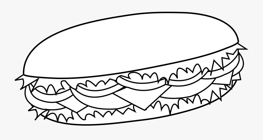 cartoon sub sandwich burger clip art black and white free transparent clipart clipartkey cartoon sub sandwich burger clip art