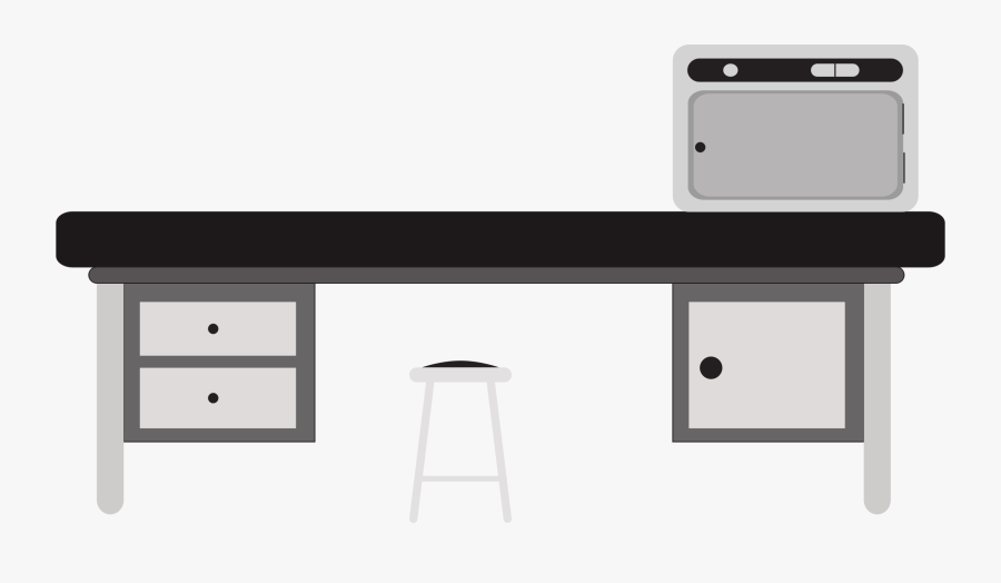 Angle,desk,table - Lab Table Clipart, Transparent Clipart