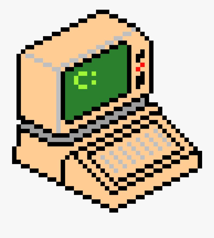 Pixel Art Computer Png Clipart , Png Download - Computer Pixel Art Png, Transparent Clipart