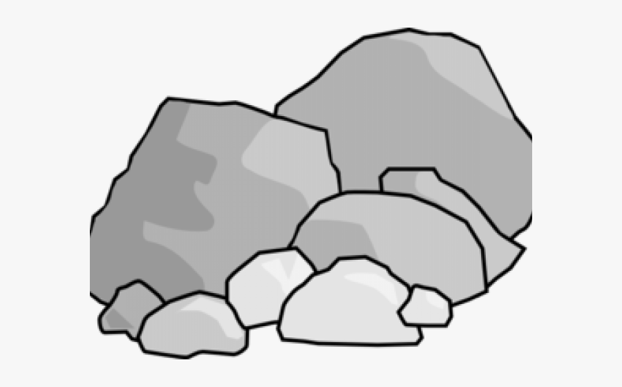 Free On Dumielauxepices Net - Clipart Rocks, Transparent Clipart