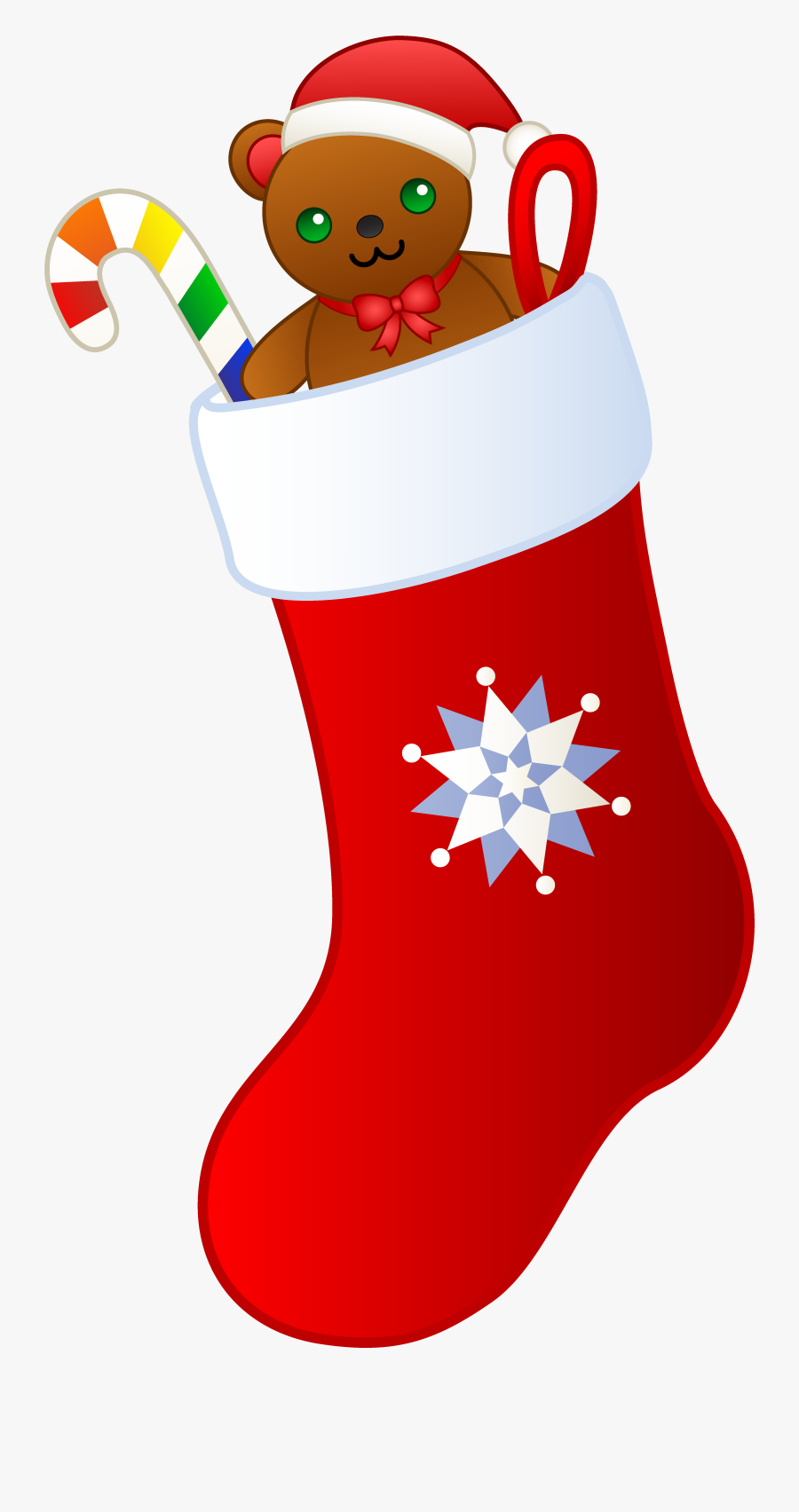 Elf Socks Pencil And - Christmas Stocking Clipart, Transparent Clipart