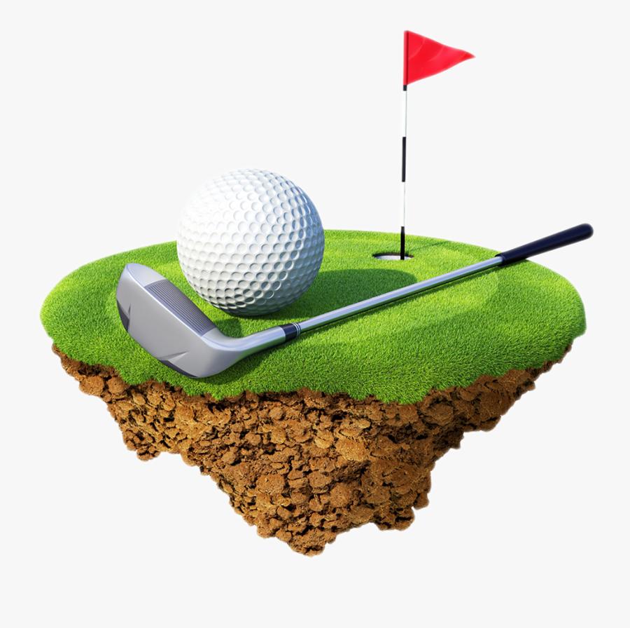 Golf Ball Clip Art Png - Transparent Background Golf Clipart, Transparent Clipart