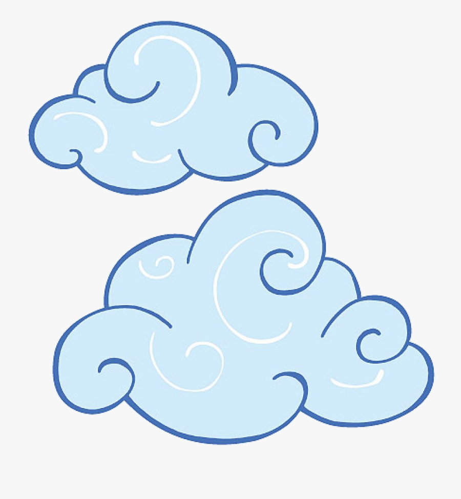 Cloud Clouds Images Clip Art Swirl Clipart Animations - Clouds To Cut Out, Transparent Clipart