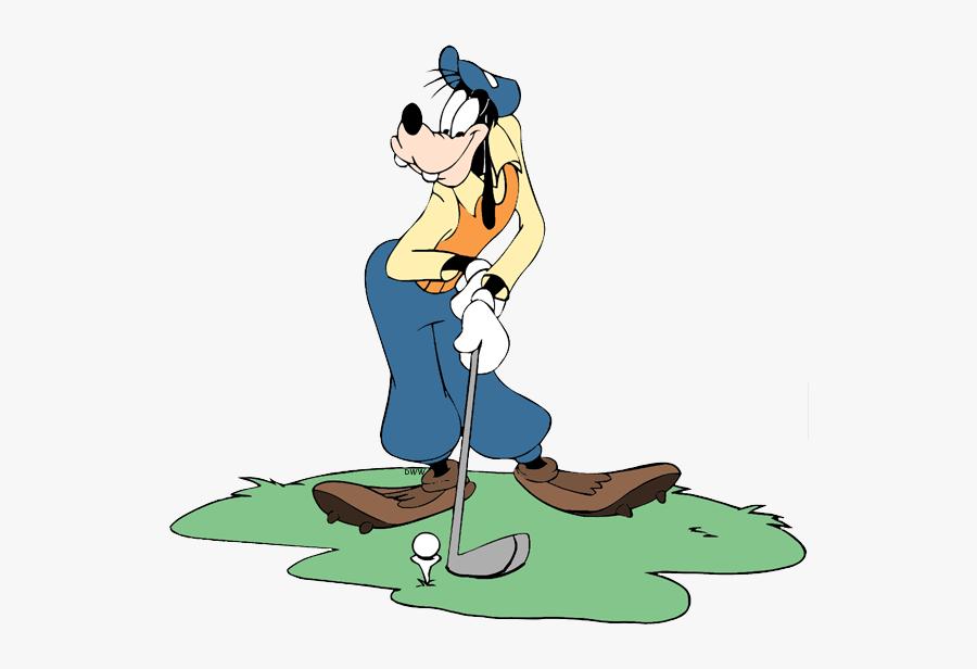 Disney Golf Clip Art, Transparent Clipart