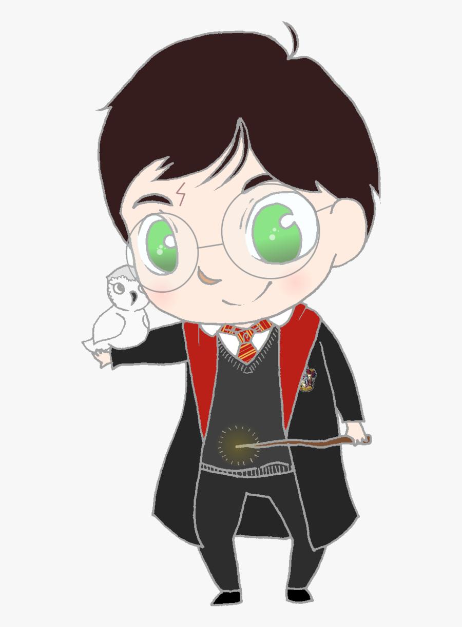 Harry Potter Clip Art - Harry Potter Png Cartoon, Transparent Clipart