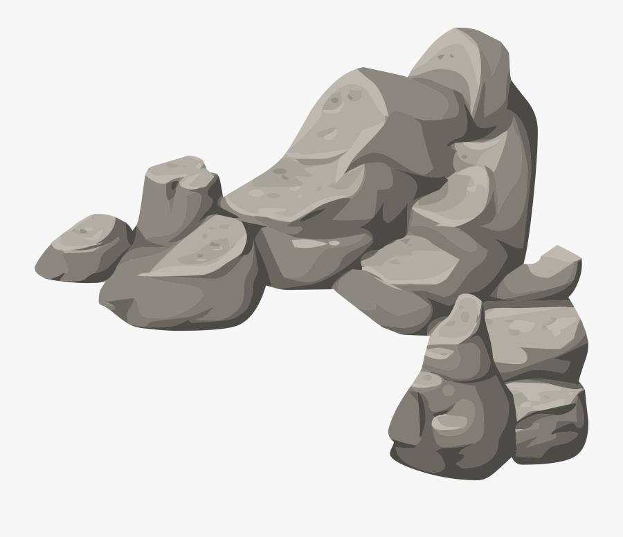 Transparent Landscape Clipart - Transparent Background Rocks Clipart, Transparent Clipart