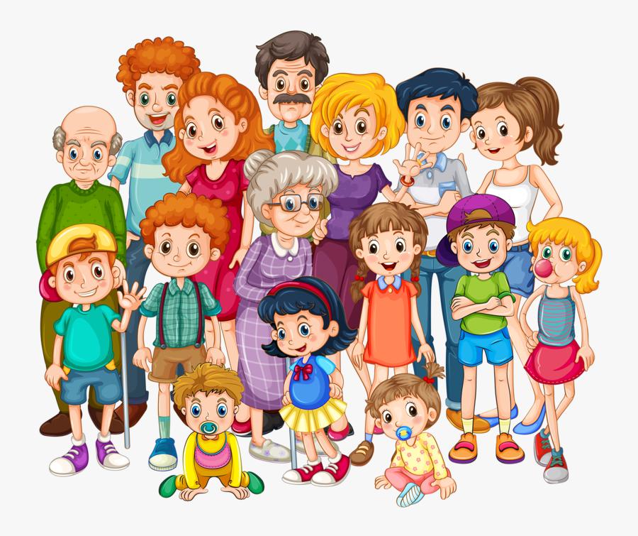 Clipart Family, Transparent Clipart
