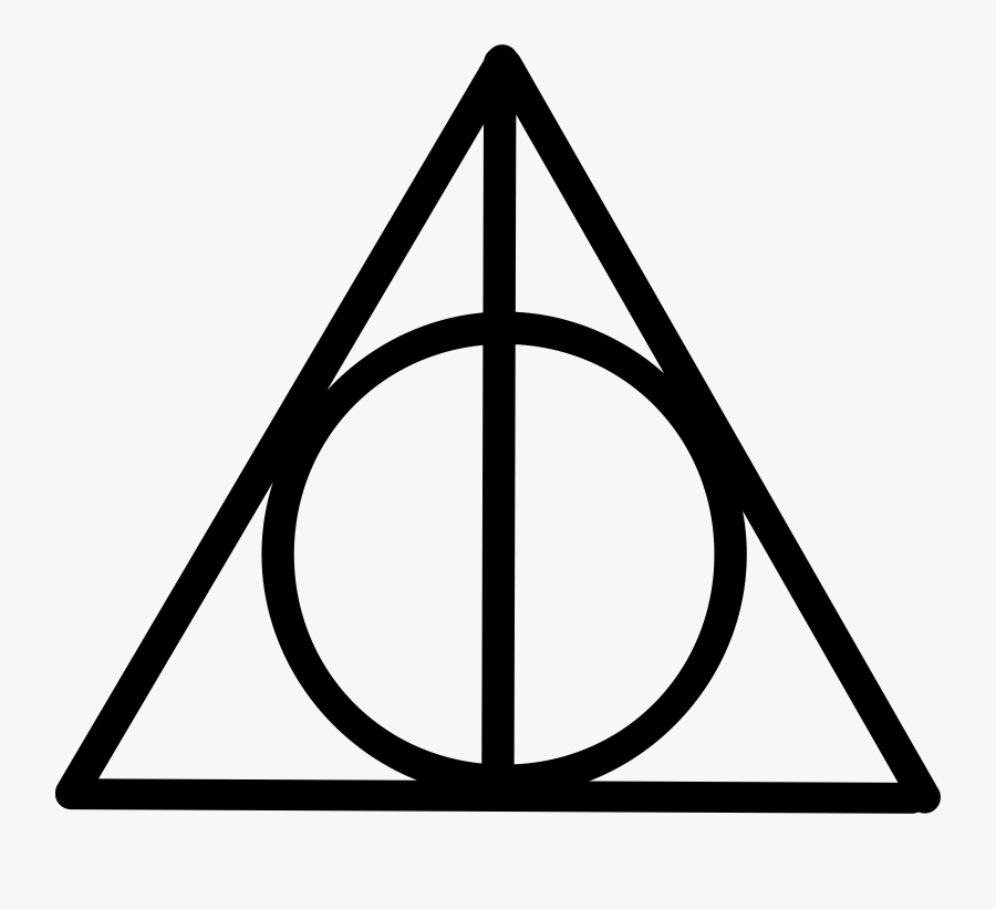 Harry Potter Clip Art Free Download Free Clipart - Symbol Harry Potter Deathly Hallows, Transparent Clipart