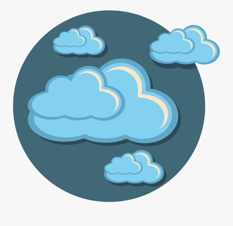 Transparent Storm Cloud Png - Icon Clouds, Transparent Clipart