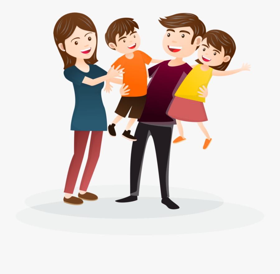 Clip Art Portable Network Graphics Desktop Wallpaper - Transparent Happy Family Clipart, Transparent Clipart