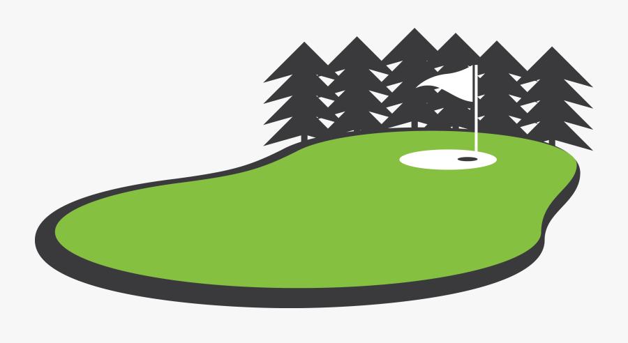 Clip Art Golf Green, Transparent Clipart