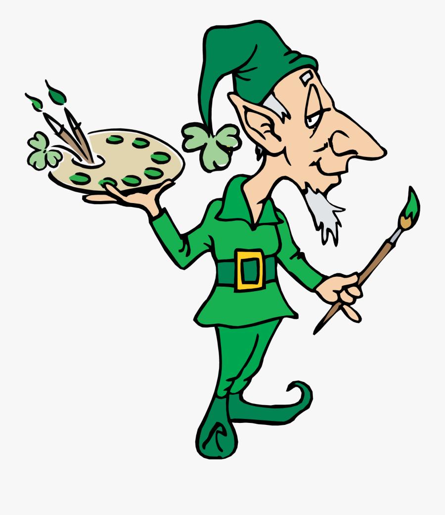 Girl Leprechaun Clipart - Elf Gif No Background, Transparent Clipart
