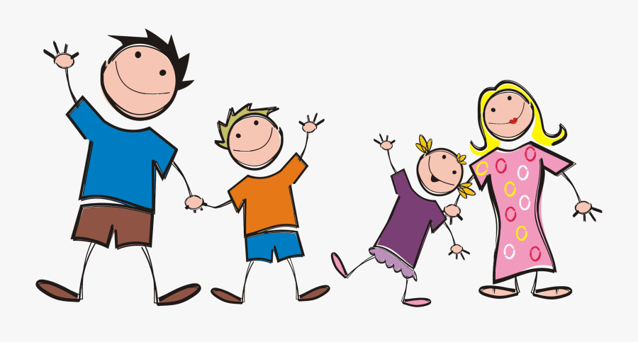 Family Clip Art Free Clipart Images - Cartoon Transparent Family Png, Transparent Clipart