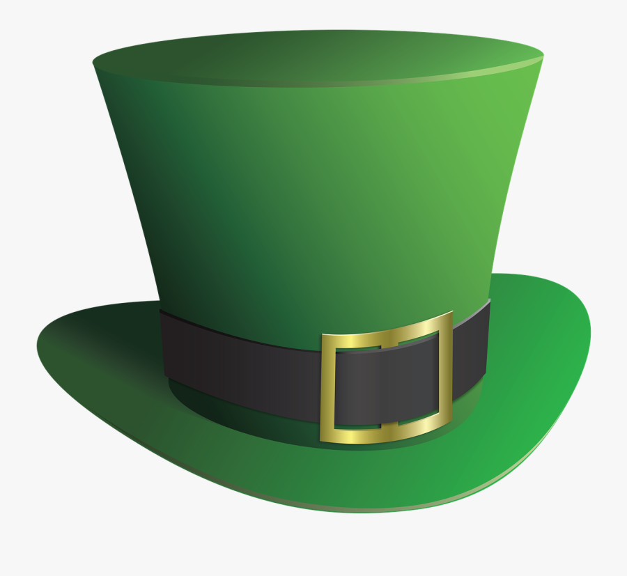 "Patrick""s Day Crafternoon - Leprechaun Hat Transparent Background, Transparent Clipart"