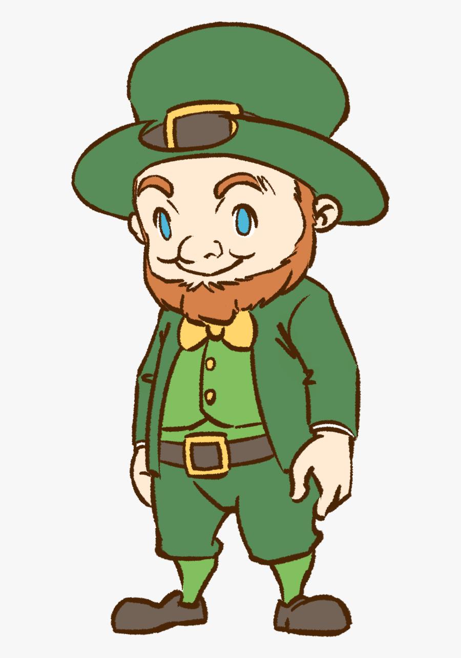 Leprechaun Free To Use Cliparts - Cartoon Leprechaun Clipart, Transparent Clipart