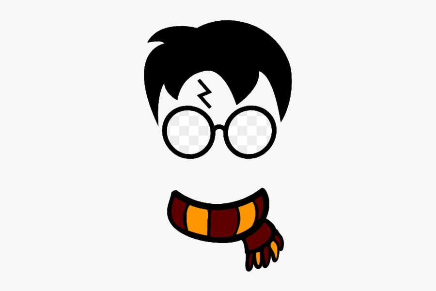 Harry Potter Mug Wizard Scarf Glasses Hogwarts Necklace - Harry Potter Clipart, Transparent Clipart