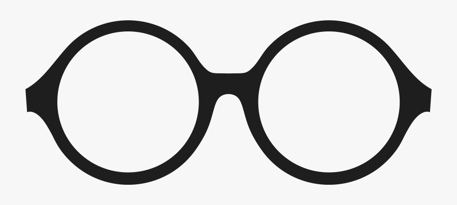 Round Glasses Clipart, Transparent Clipart