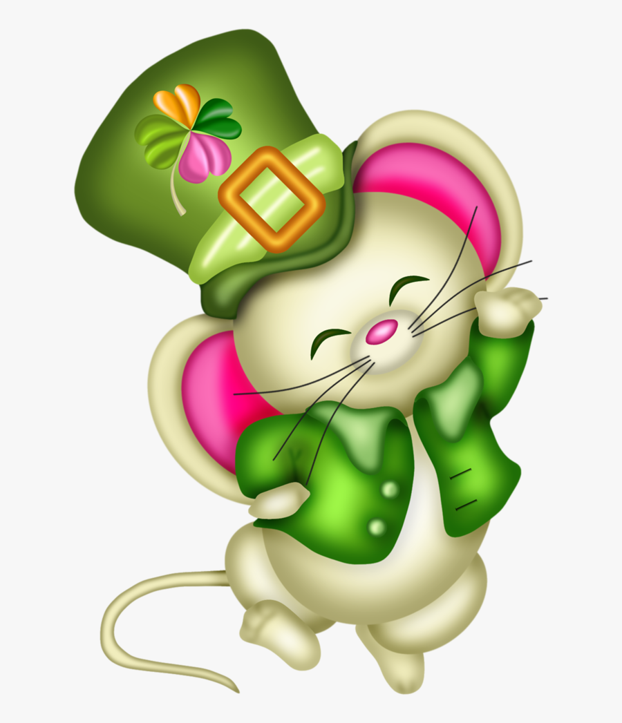 Cute St Patrick's Day Clip Art, Transparent Clipart