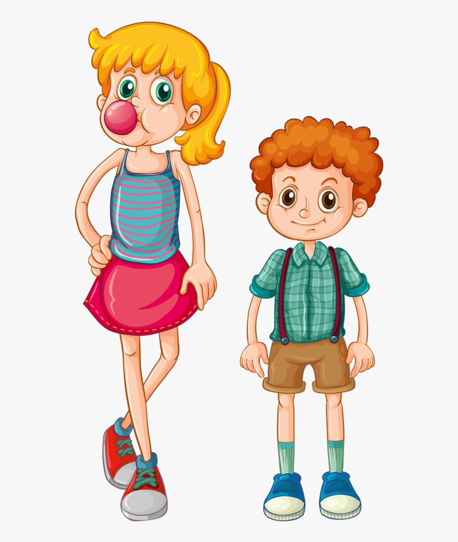 Family Clip Art - Tall And Short Clipart , Free ...