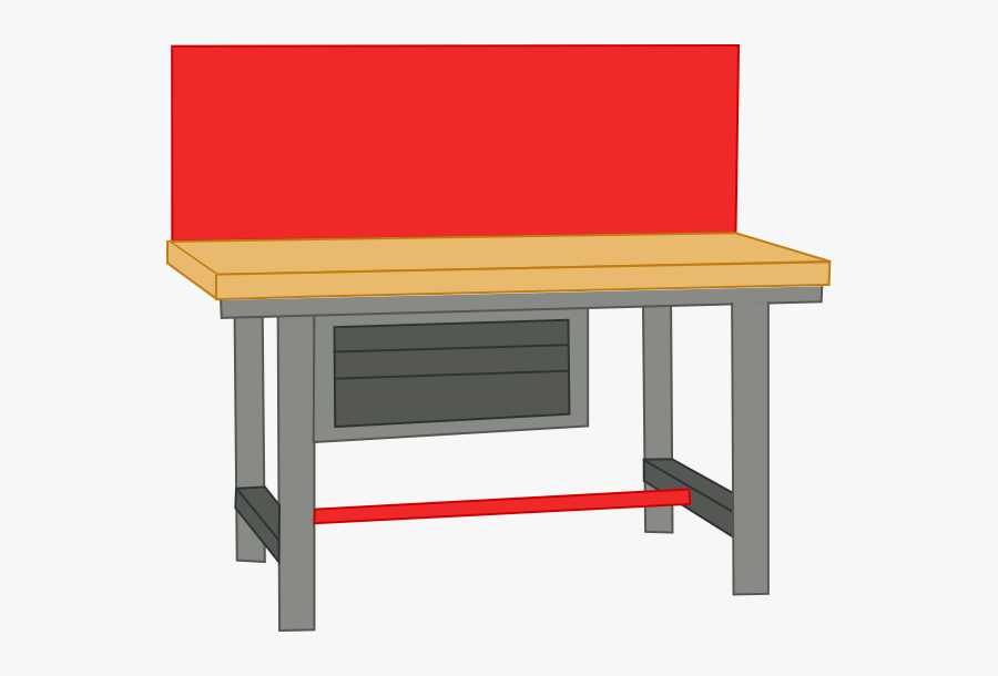 Table Clipart Work - Work Table Clipart, Transparent Clipart