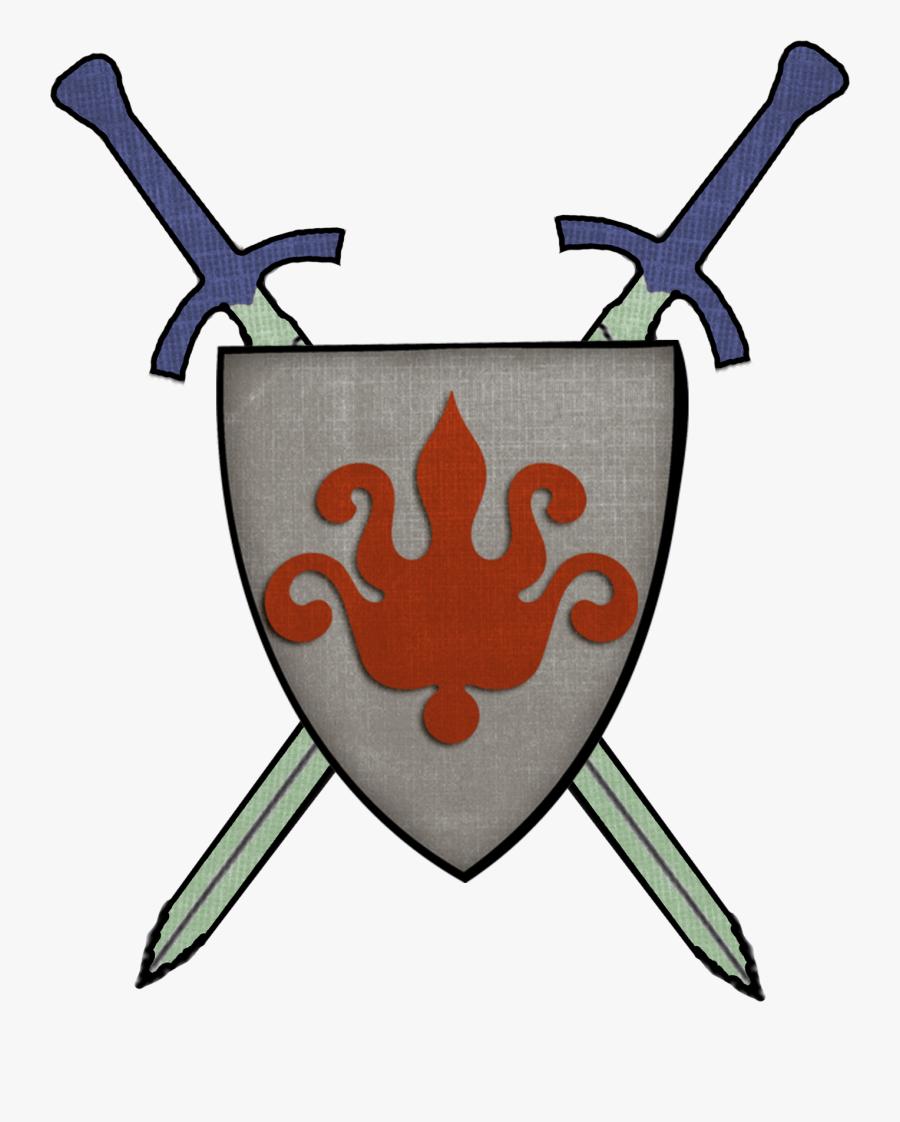 Transparent Knight Clip Art - Middle Age Knight Symbol, Transparent Clipart