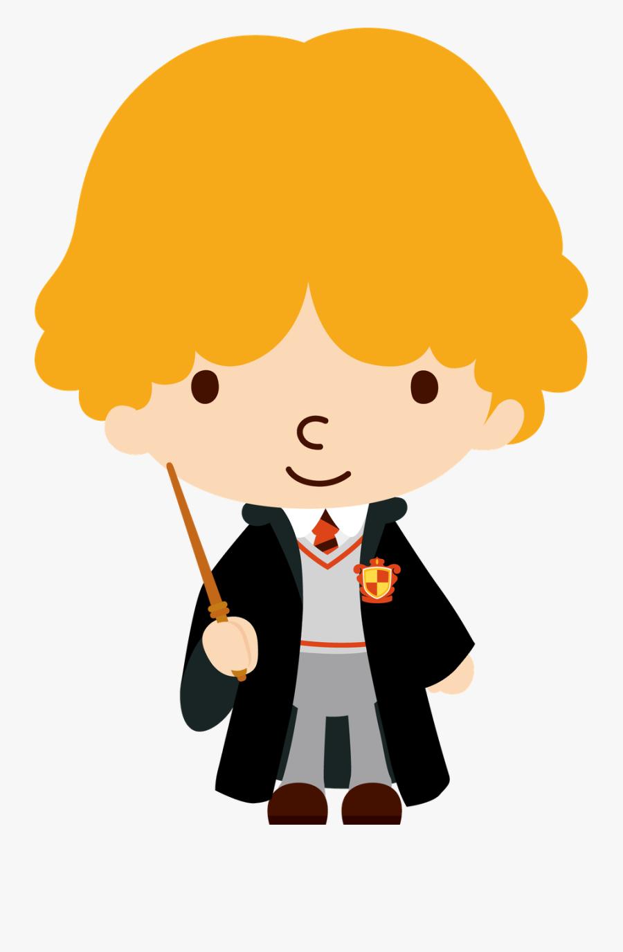 Harry Potter Clipart Burrow - Harry Potter Character Clip Art, Transparent Clipart