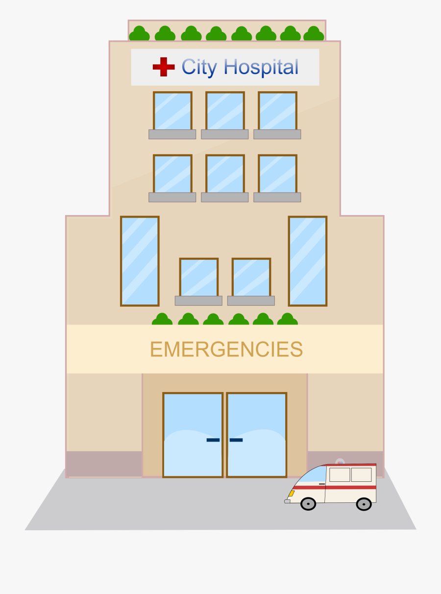 Hospital Free To Use Cliparts - Animated Pictures Of Hospitals, Transparent Clipart