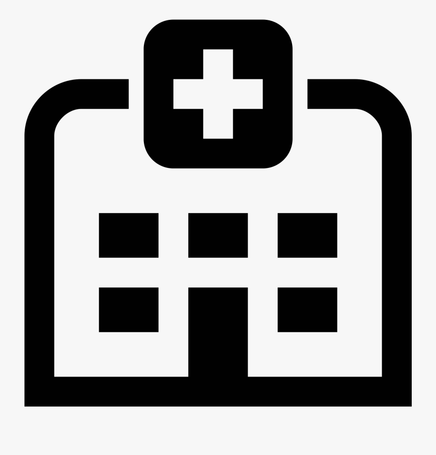 Hospital Icon Clipart , Png Download - Hospital Icon, Transparent Clipart