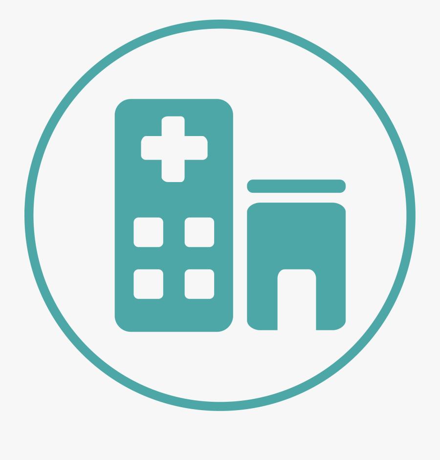Hospital Clipart Icon - Hospital Clipart Logo, Transparent Clipart