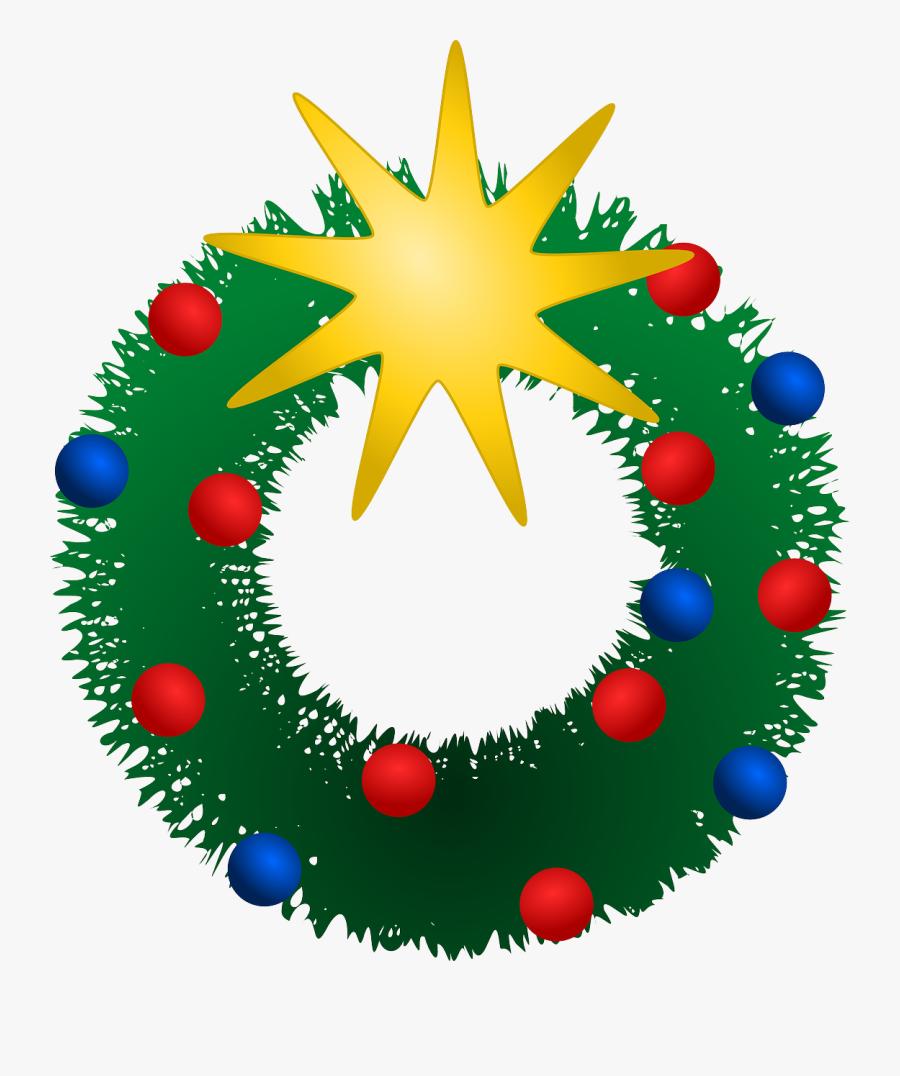 Free Christmas Wreath Clipart Public Domain Clip Art - Christmas Holiday Clip Art, Transparent Clipart