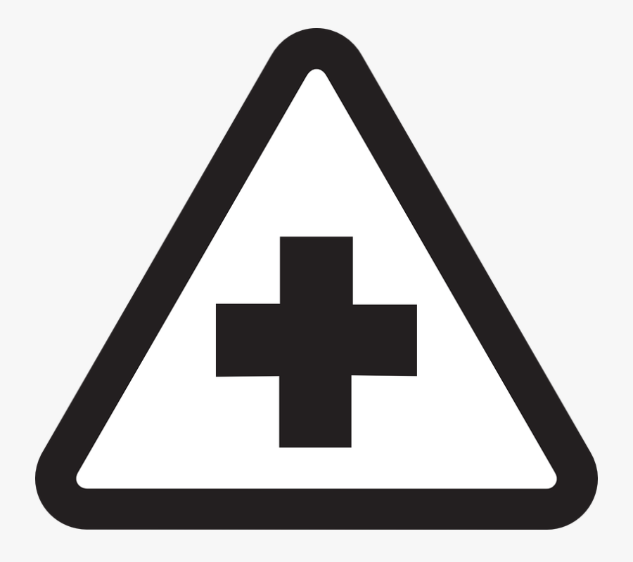 Can Use For Book Cover, Hospital Clipart Png - Hospital Sign Clipart Black And White, Transparent Clipart