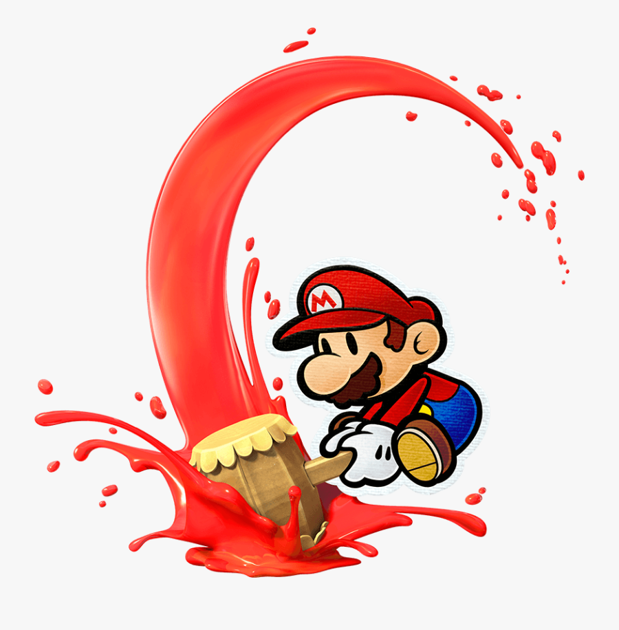 Paper Character Supermarioglitchy Wiki Fandom Powered - Paper Mario Color Splash Hammer, Transparent Clipart