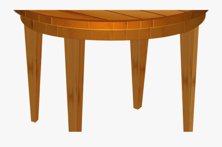 Cartoon Wood Wooden Thing - Round Wooden Table Clipart, Transparent Clipart