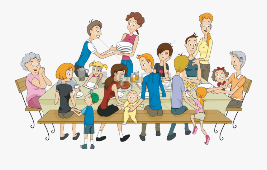 Social Group,animated Pictures,animation,clip Art,family - Family Reunion Clip Art, Transparent Clipart