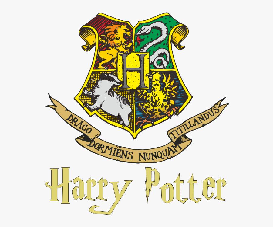 Logo Hogwarts Harry Potter Vector - Logo Hogwarts Harry Potter, Transparent Clipart