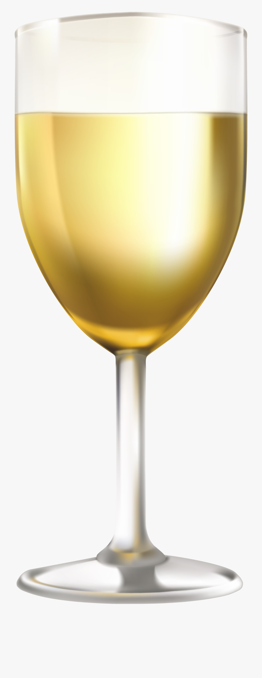 White Wine Glass Png, Transparent Clipart
