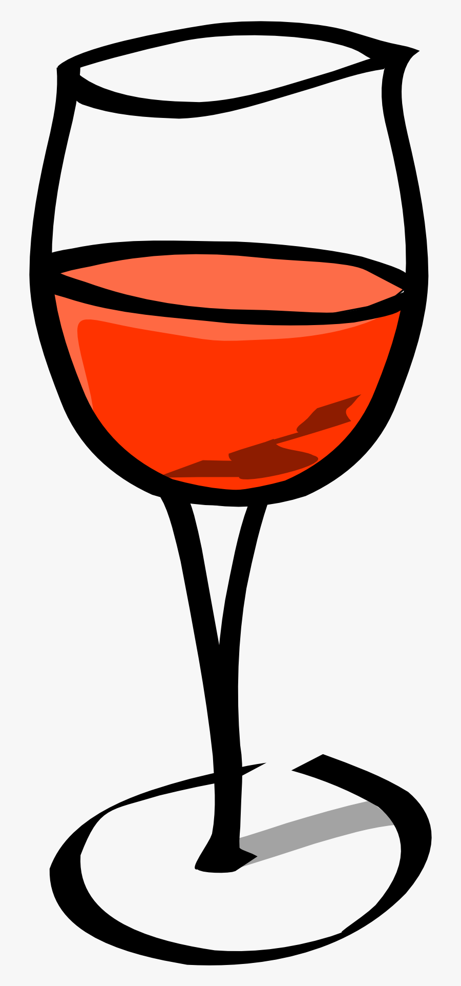 Wine Glass Download Wine Clip Art Free Clipart Of Glasses - Draw Glass Of Wine, Transparent Clipart