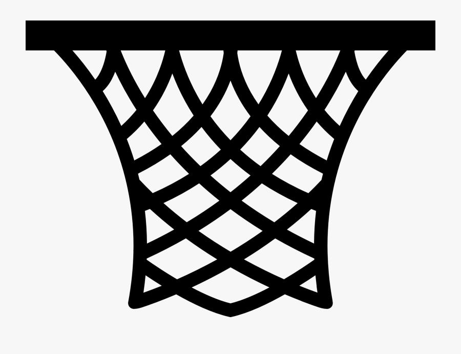 Basketball Hoop Clipart Png - Basketball Net Clip Art, Transparent Clipart