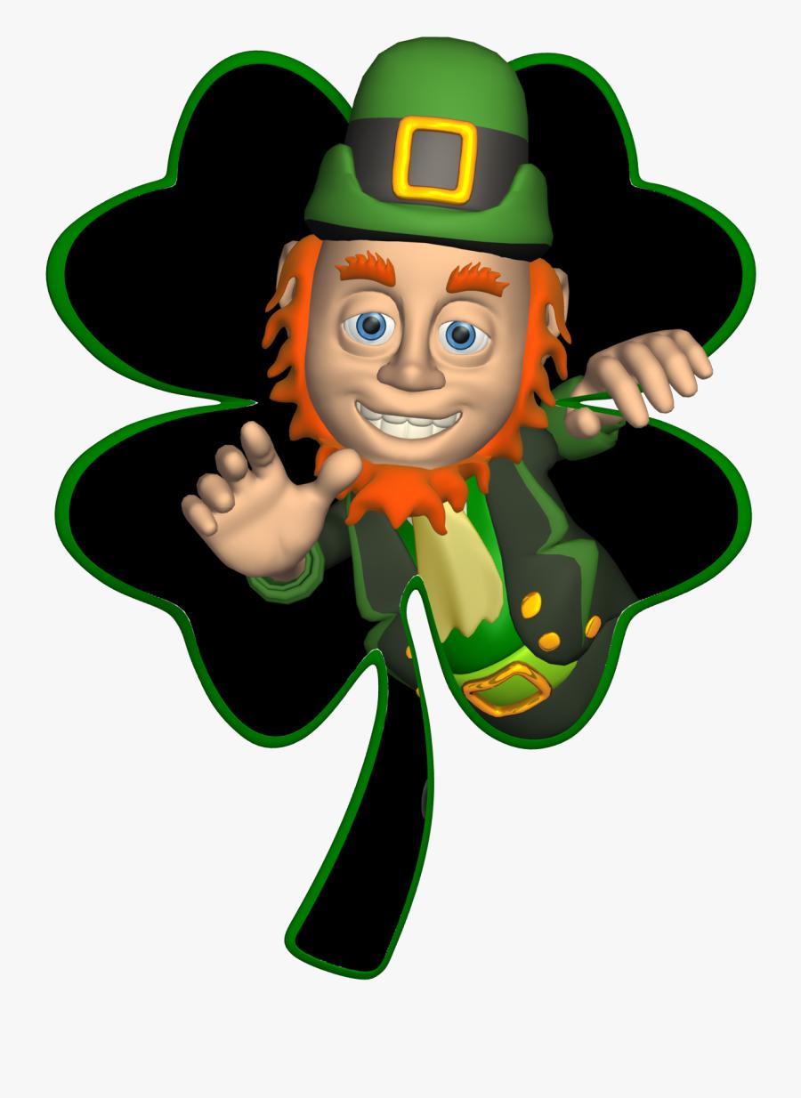 Leprechaun Png Free Leprechaun Download Free Clip Art - Leprechaun Good Luck Gif, Transparent Clipart