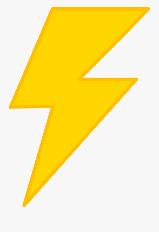 Lightning Bolt Transparent Background Free Transparent Clipart Clipartkey