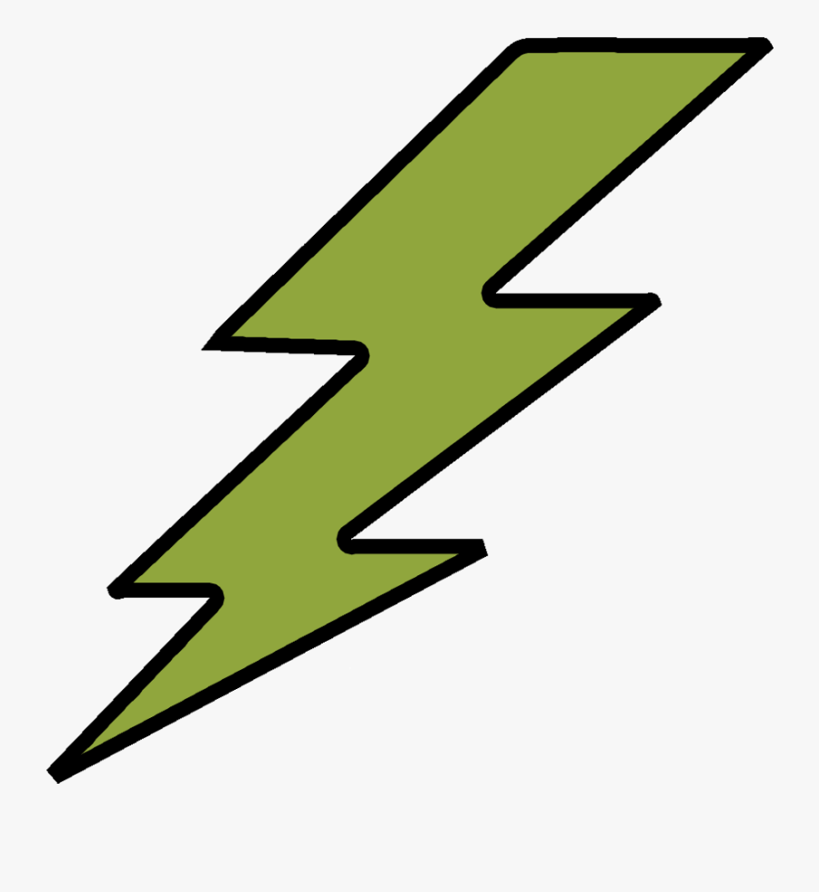 Lightning Bolt Sticker By Stz Clipart , Png Download - Lightning Bolt Cartoon Animation Gif, Transparent Clipart