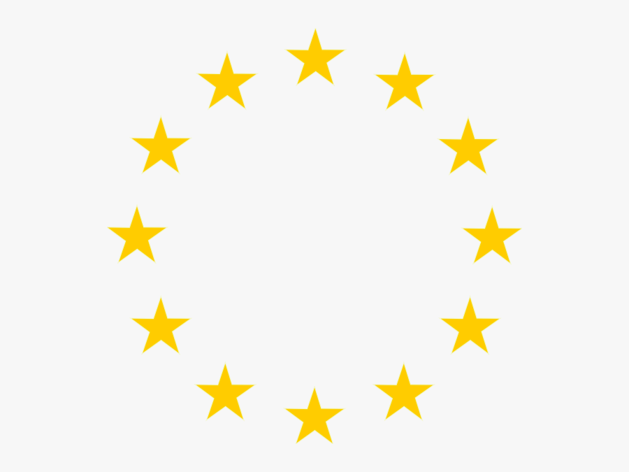 Clip Art At Clker - European Union Stars, Transparent Clipart